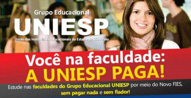 """Faculdade é condenada a quitar o FIES de aluna integrante do programa """"UNIESP PAGA"""""""